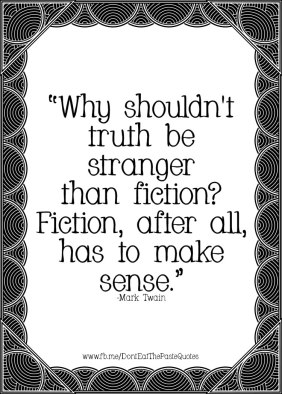 truth vs fiction