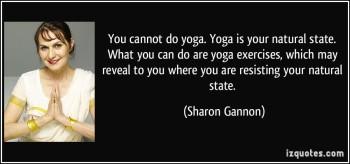 sharon gannon on yoga