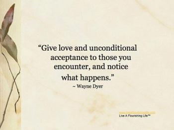 unconditional-acceptance