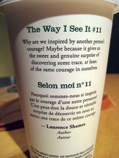 The way i see it #11 | starbucks