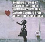 let go of the weight