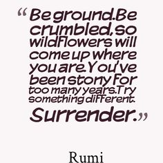 Rumi |be ground
